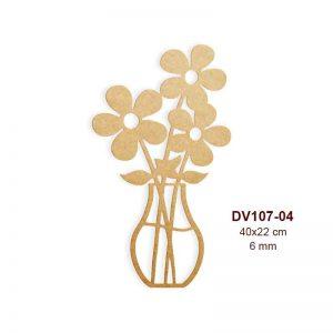 Vazodaki Çiçekler DV107-04