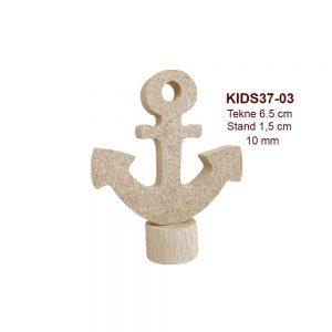 Mini Deniz Çapası Biblo KIDS37-03