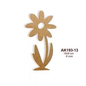 Ahşap Çiçek Figürü AK193-18