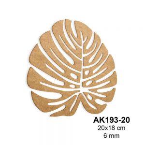 Ahşap Deve Tabanı Yaprağı AK193-20