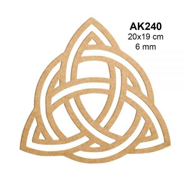 Ahşap Kelt Düğümü AK240