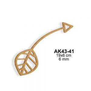 Ahşap Ok AK43-41