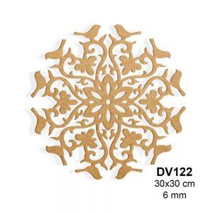 Ahşap Boyama Duvar Süsü DV122