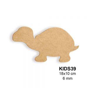 Ahşap Kaplumbağa Silüeti KIDS39
