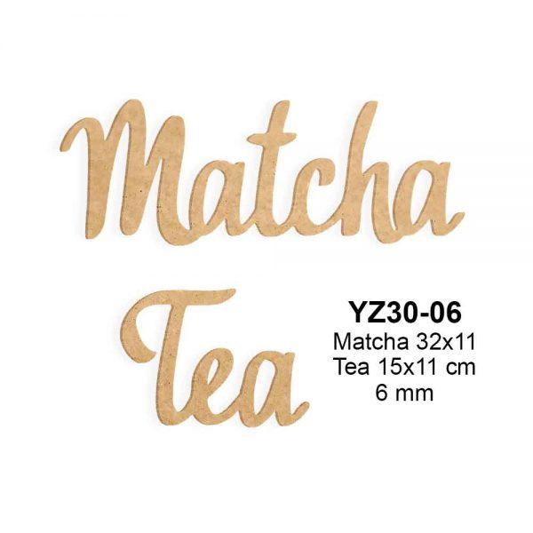 Ahşap Matcha Tea YZ30-06