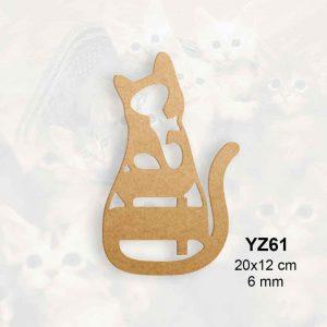 Ahşap Cat Yazısı YZ61