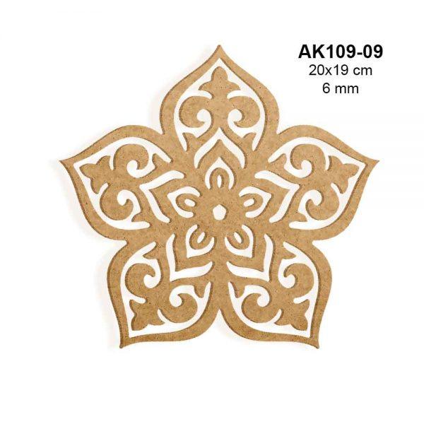 Ahşap Boyama Süsleri AK109-09