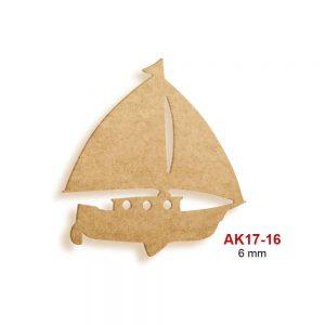 Ahşap Yelkenli Tekne AK17-16