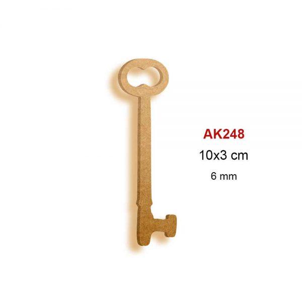 Ahşap Mini Anahtar AK248