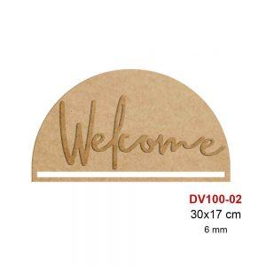 Ahşap Welcome Panosu DV100-02
