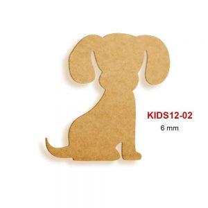 Ahşap Köpek Figürü KIDS12-02
