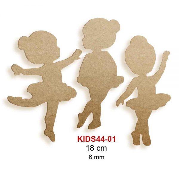 Ahşap Balerinler KIDS44-01