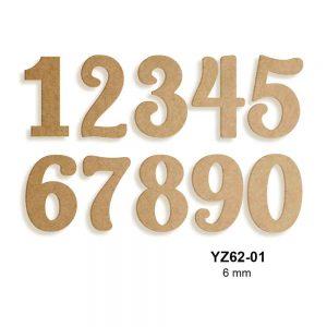 Ahşap Rakamlar YZ62-01
