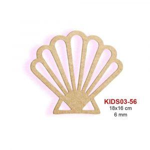 Ahşap Deniz Kabuğu AK03-56
