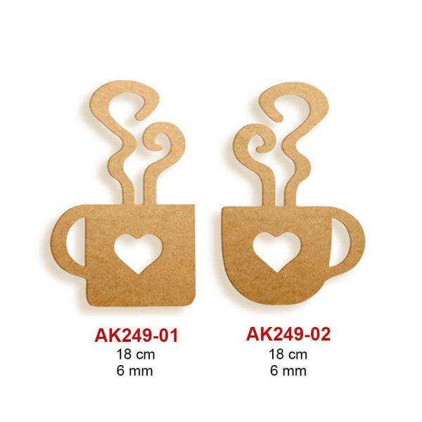 Ahşap Fincanlar AK249