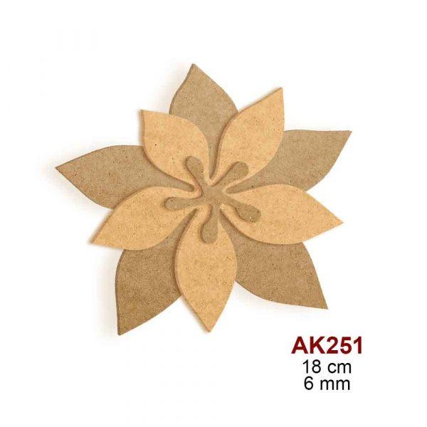 Zanaatkarın İdeali Atatürk Çiçeği AK251