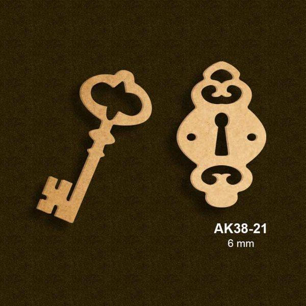 Anahtar ve Kapağı AK38-21