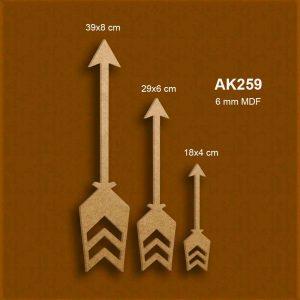 Dekoratif Oklar AK43-43