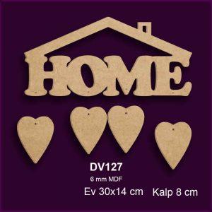 Home Kapı ve Duvar Süsü DV217