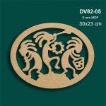 Kokopelli Oval Pano DV82-05