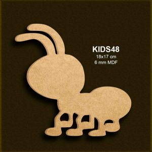 Çalışkan Karınca KIDS48