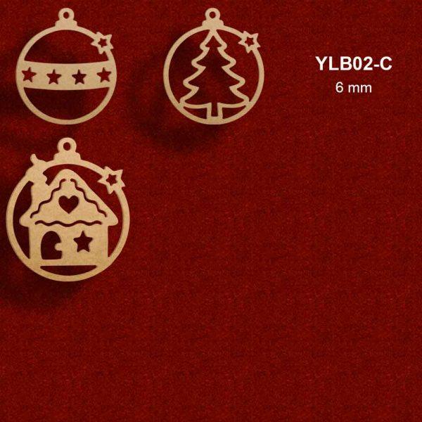 Ağaç Süsleme Topları YLB02-C