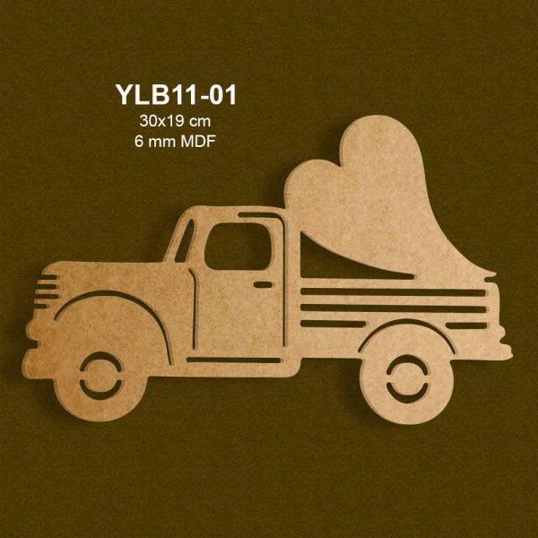 YLB11-01 Pikap Kalbi Kime Taşıyor